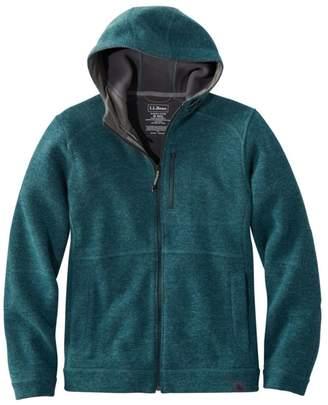 L.L. Bean L.L.Bean Men's Wool Tek Hooded Jacket