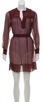 Etoile Isabel Marant Printed Silk Dress w/ Tags