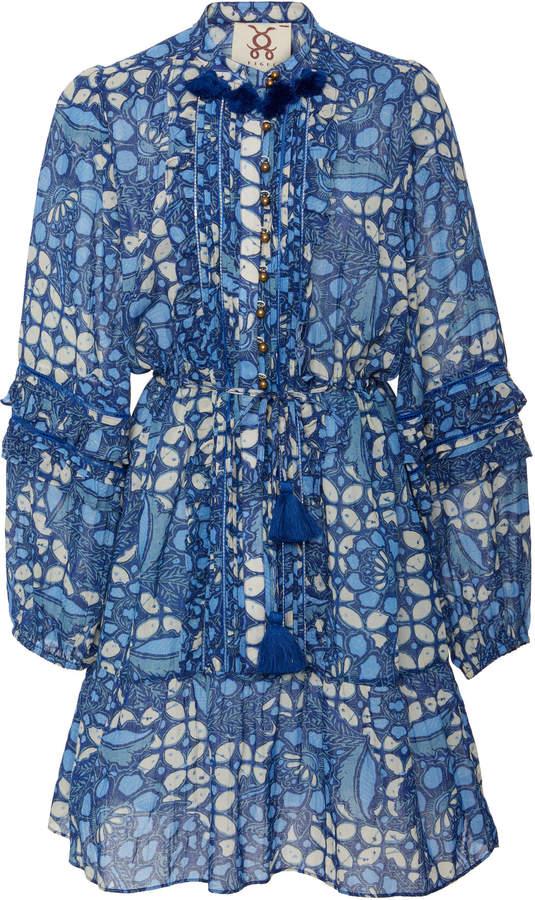 Figue Zellie cotton blend mini dress