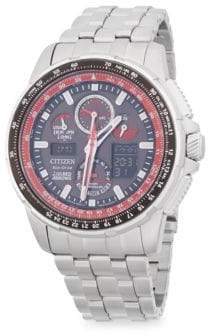 Citizen Stainless Steel Chronograph Bracelet Watch