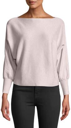 Avantlook Batwing-Sleeve Pullover Sweater