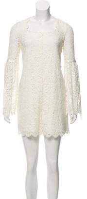 Rachel Zoe Lace Long Sleeve Romper
