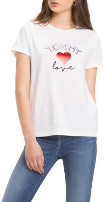 Tommy Hilfiger Love Roll Sleeved Tee