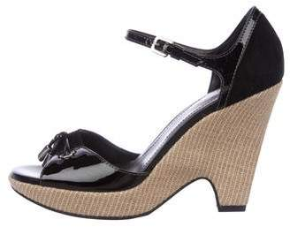 Tod's Patent Leather High-Heel Sandals