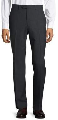 Lauren Ralph Lauren Wool-Blend Straight-Leg Pants