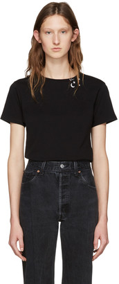 Saint Laurent Black Constellation T-Shirt $350 thestylecure.com