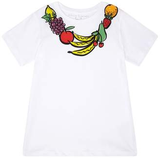 Stella McCartney Cotton Fruit Print T-Shirt