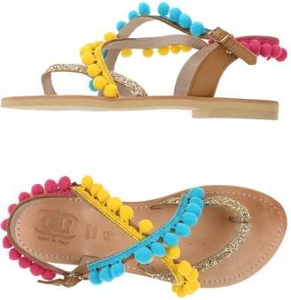 Cali CALI' Toe strap sandals