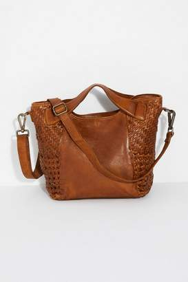 Latico Leathers Textured Leather Tote