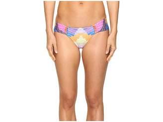 Mara Hoffman Radial Side Ruched Bottom Women's Swimwear