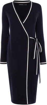 Karen Millen Stripe Wrap Dress