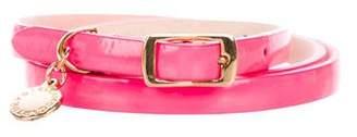 Stella McCartney Vegan Patent Leather Belt