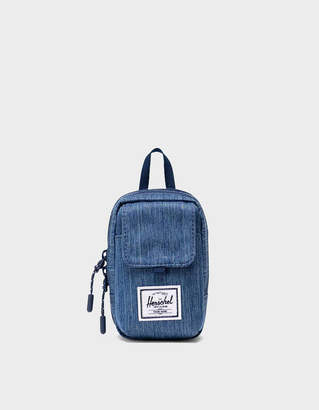 Herschel Form Small Crossbody in Faded Denim