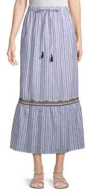 Raga Sailor Cotton Midi Skirt