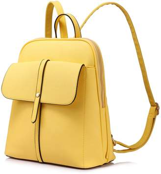LOVEVOOK Backpack Purse for Girls School Travel Bag Bucket Shape Large Capacity