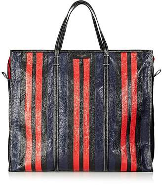 Balenciaga Men's Bazar Arena Leather Extra-Large Shopper Tote Bag