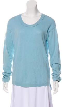 Allude Cashmere Knit Sweater blue Cashmere Knit Sweater