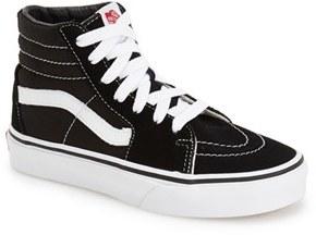Boy's Vans 'Sk8-Hi' Sneaker $39.95 thestylecure.com