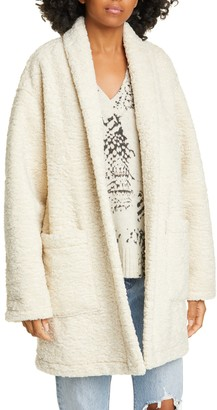 Brochu Walker Dresden Reversible Faux Shearling Coat