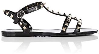Valentino Women's Rockstud PVC Slingback Sandals