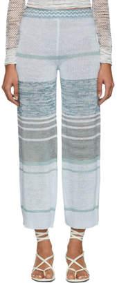 Missoni Multicolor Knit Linen Lounge Pants