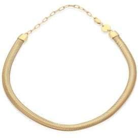 Jennifer Zeuner Jewelry Della Snake Chain Choker