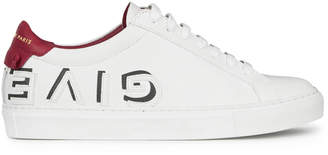 Givenchy Logo-Print Leather Low-Top Sneakers