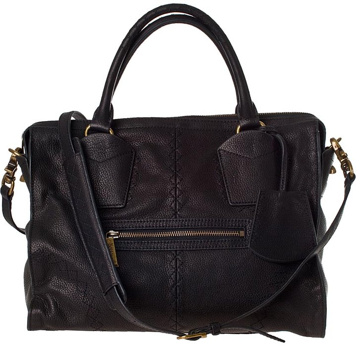HANDBAGS Botkier Jackson Satchel Black Leather