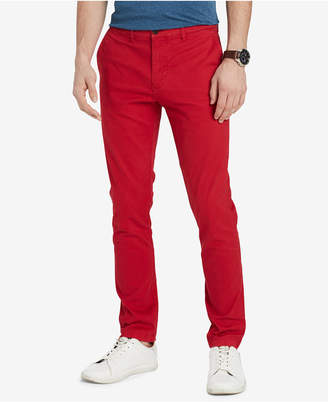Tommy Hilfiger Men's Th Flex Stretch Slim-Fit Chino Pants