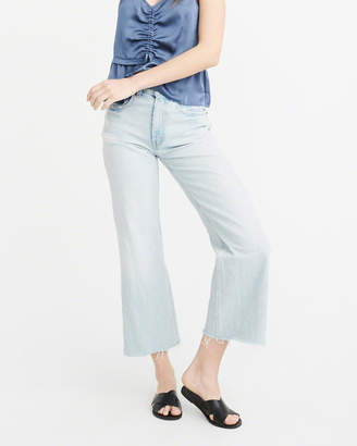 Abercrombie & Fitch High-Rise Wide Leg Jeans