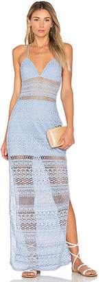 ale by alessandra Ofelia Maxi Dress in Blue $198 thestylecure.com