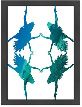 Dance 1 Ikonolexi (Framed Giclee)