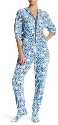 Hello Kitty Hooded Blue Animal Jumpsuit $42 thestylecure.com