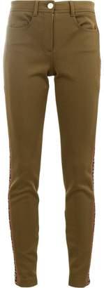 Fendi side logo trousers