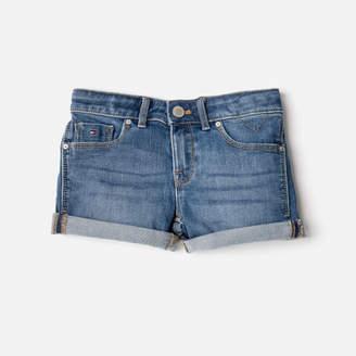 Tommy Hilfiger Girls' Nora Stretch Denim Shorts