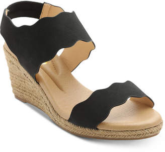 XOXO Stanford Espadrille Wedge Sandals Women Shoes