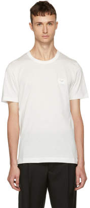 Dolce & Gabbana White Plaque T-Shirt
