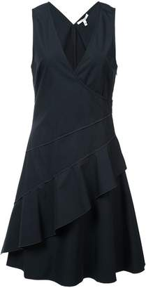 Derek Lam 10 Crosby Asymmetrical Hem Tank Dress