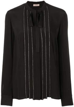 Twin-Set stud detail blouse