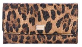 Dolce & Gabbana Printed Flap Wallet