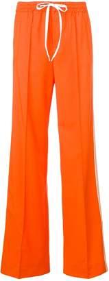 Miu Miu high-waisted track trousers
