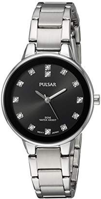 Pulsar Women's Quartz Brass and Stainless Steel Casual Watch
