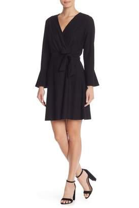 Spense 3\u002F4 Sleeve Textured Knit Dress