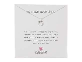 Dogeared Let Imagination Shine, Crecent Necklace