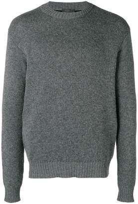 Prada double knit cashmere sweater