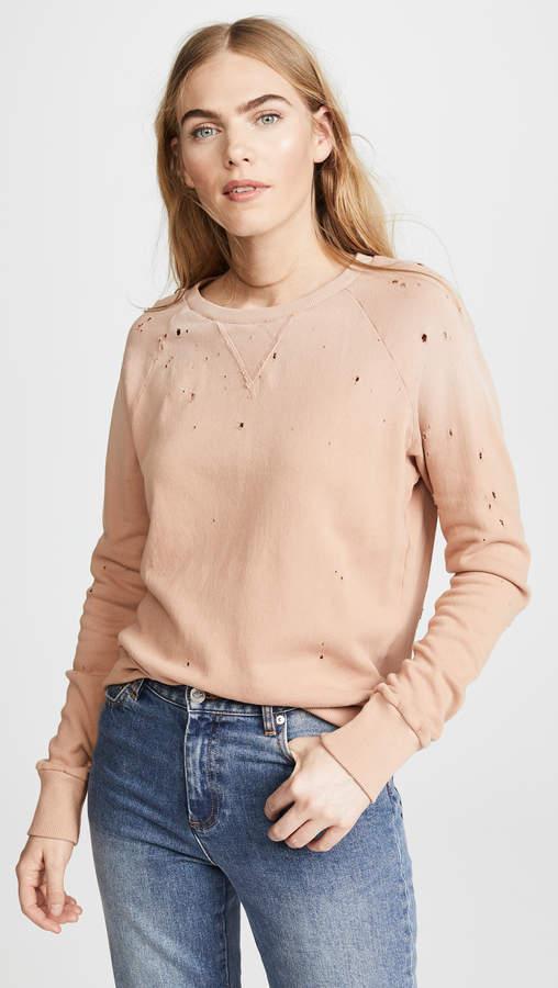 Variation Distressed Sweatshirt