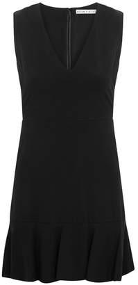 Alice + Olivia Onella Flared-hem Mini Dress