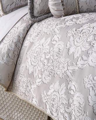 Dian Austin Couture Home Queen Vasari Damask Duvet Cover
