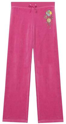 Juicy Couture Velour Candy Crown Mar Vista Pant for Girls