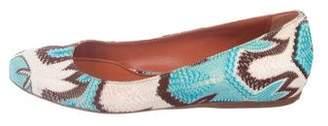 Missoni Knit Ballet Flats